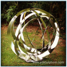 Metal Art Outdoor Garden Stainless Steel Sphere Sculpture